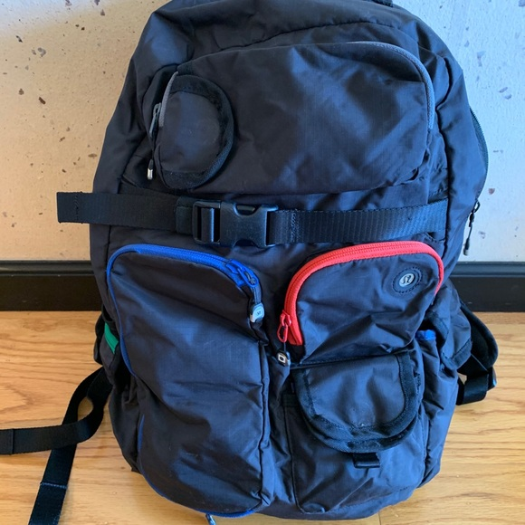 Lululemon athletica black backpack